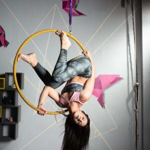 Pole Dance, Exotic Pole, Ακροβατικό Στεφάνι και Stetch & Flex.